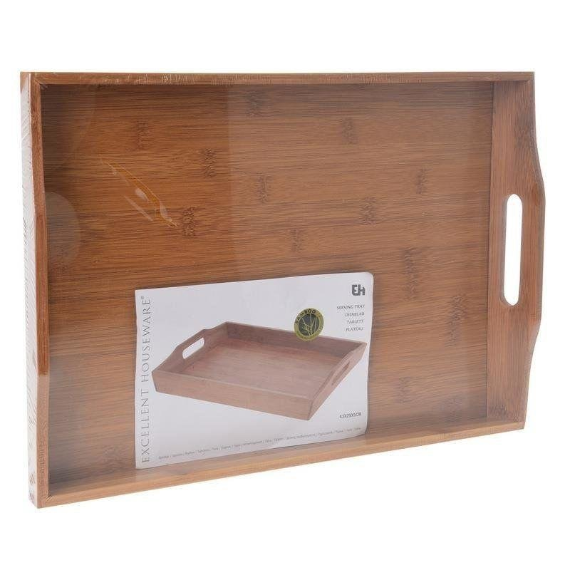 ORION BAMBOO TRAY for serving 43x29x5 cm