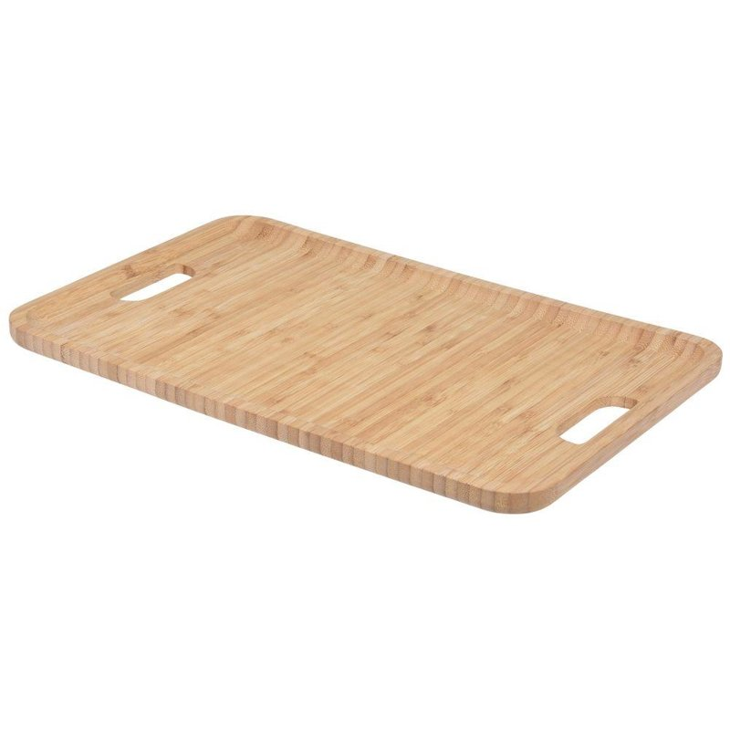 ORION BAMBOO tray for serving wooden plate 43x28cm