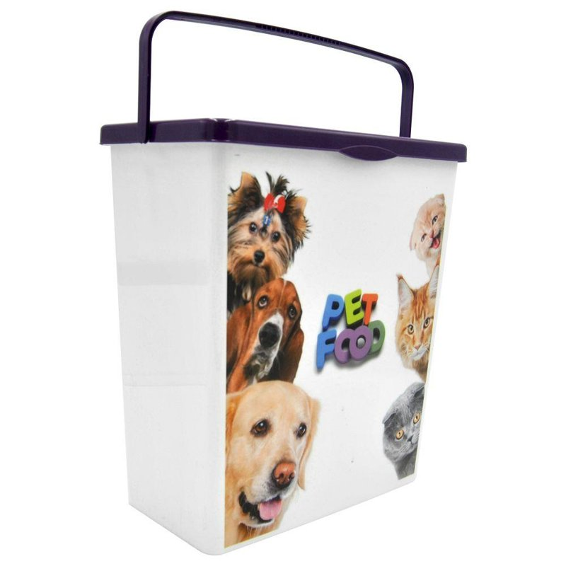 ORION Container for food for DOG CAT closed XL big 10L