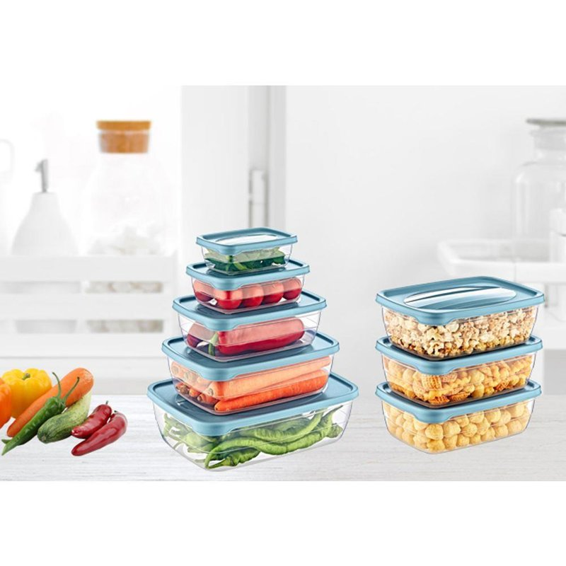 ORION Container for food with lid set of cookwares 5 pieces
