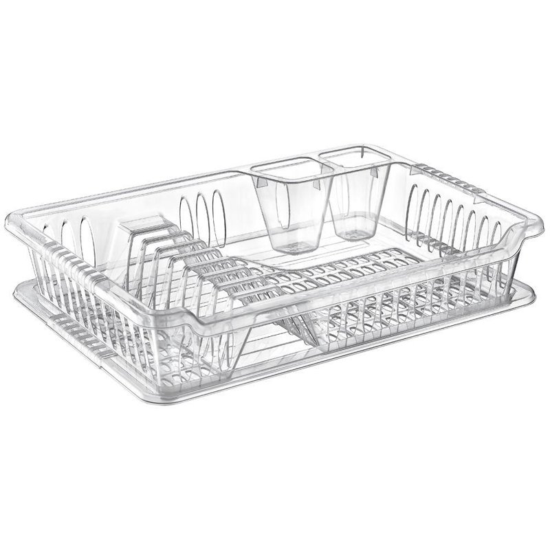 ORION Drying rack draining tray for cookwares with tray