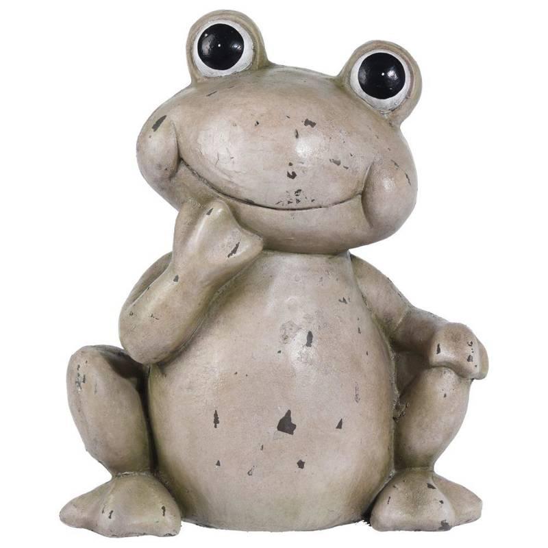 ORION Figurine FROG frog garden decoration 36,5 cm