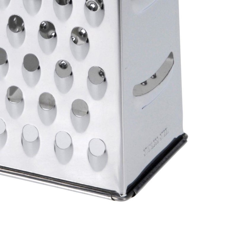 ORION Grater 4-sided steel for vegetables fruit cheese
