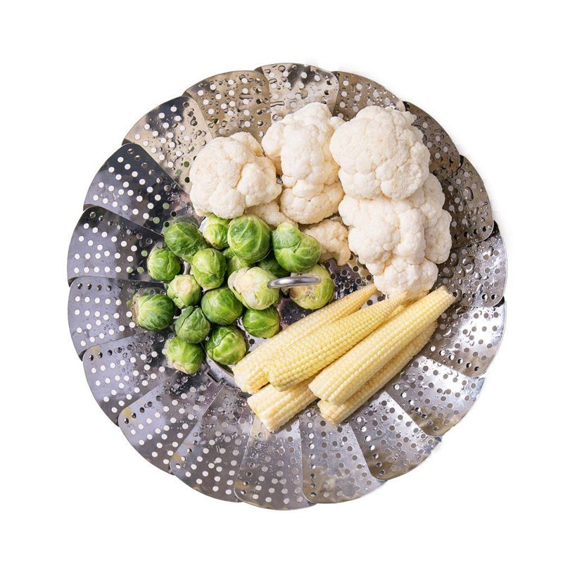 ORION Insert basket sieve on steam / for steaming 14 - 23 cm