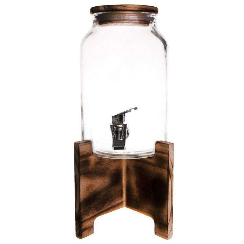 ORION Jar / jar with tap for drinks 4,2L + stand