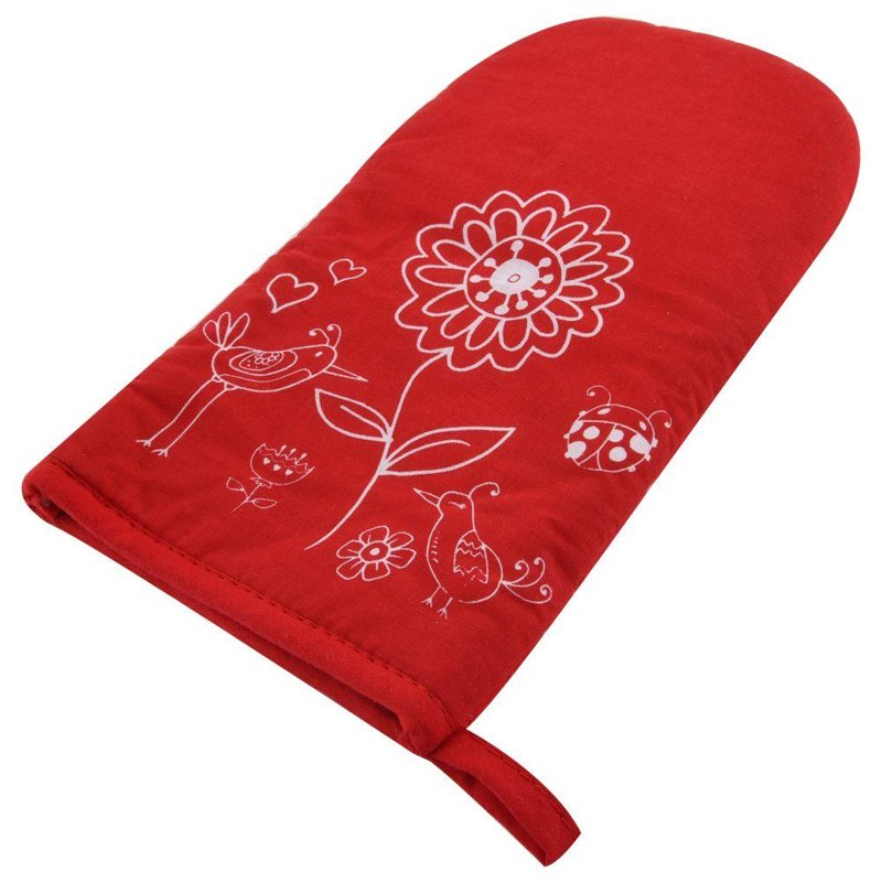 ORION Kitchen glove teflon with magnet FLOWERS