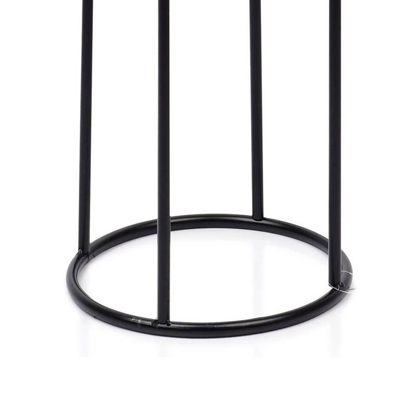 ORION Metal flowerbed black POT stand base protection 70 cm