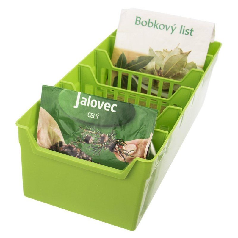 ORION ORGANIZER for SPICES bags container GREEN
