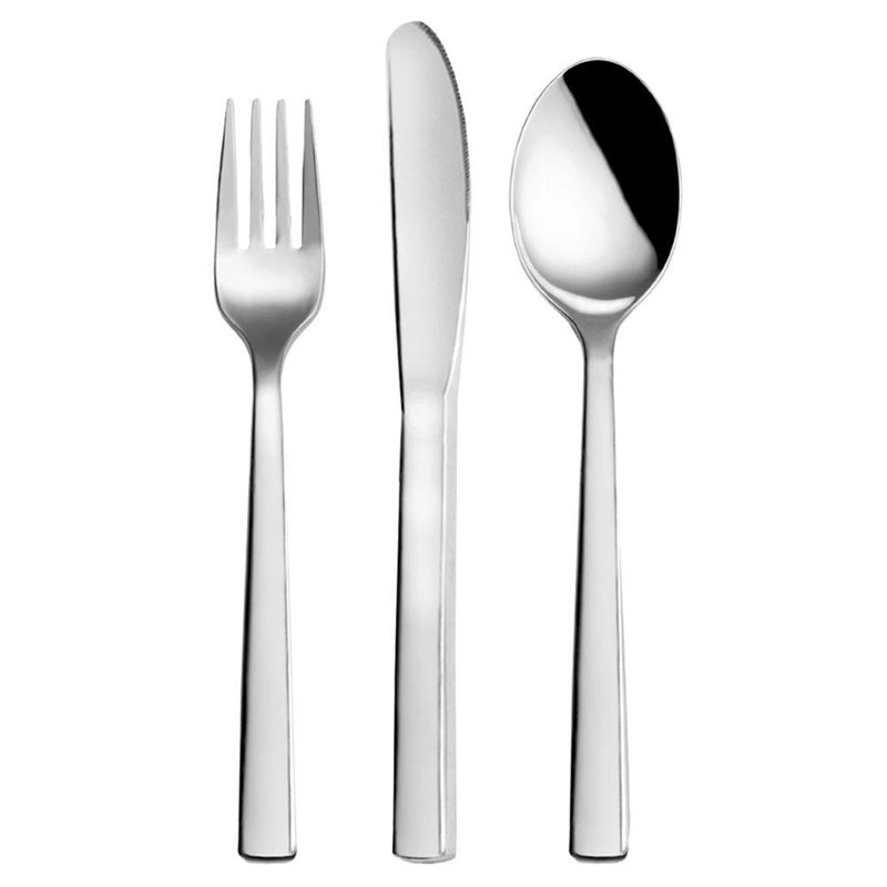 ORION Set of cutlery / cutlery 3 elements SPOON + FORK + KNIFE
