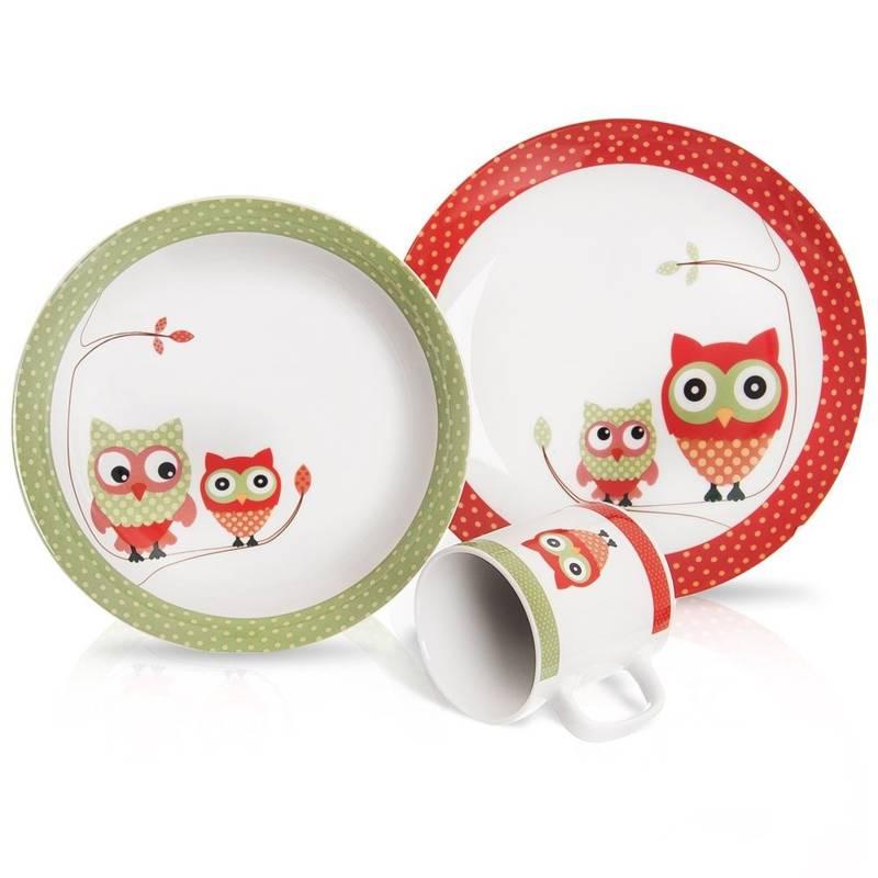 ORION Set - plate, bowl, mug FOR KIDS / KID