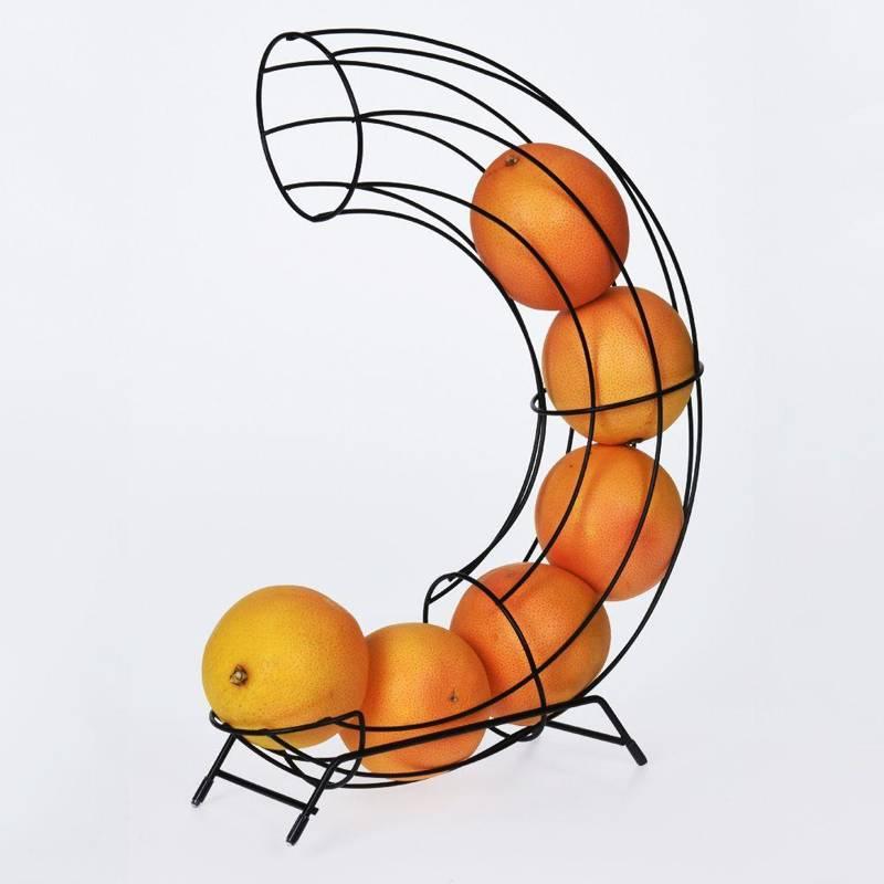 ORION Stand for ORANGES fruit basket BLACK