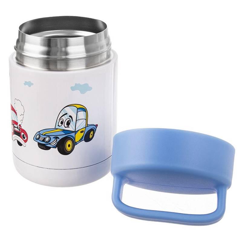ORION Thermal dinner bowl CAR for kids kid 0,48L