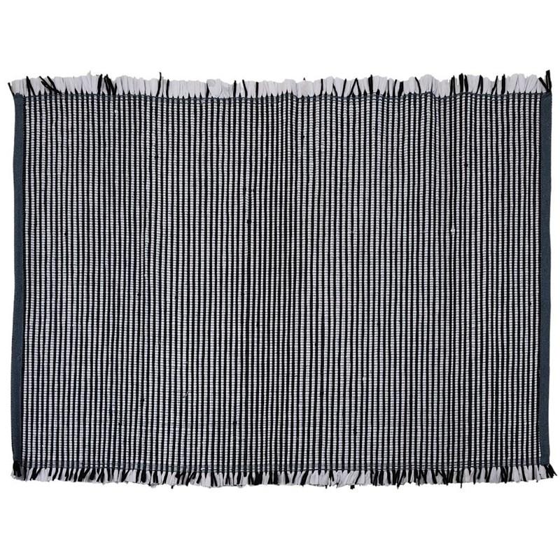 ORION Teppich Dekorationsteppich RECHTECKIG schwarz-weiß GESTREIFT 120x180 cm