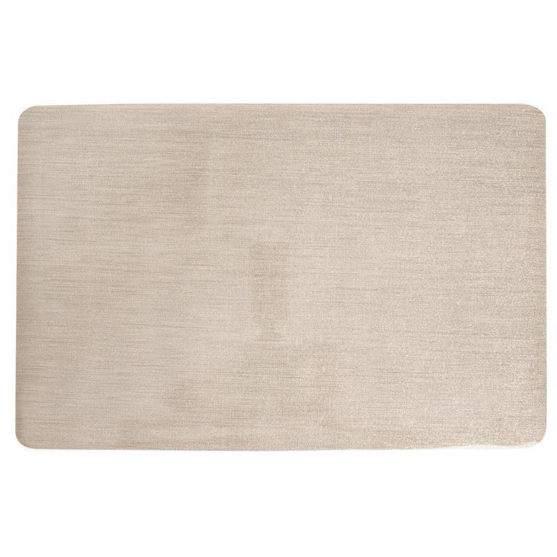 TELLERUNTERLAGE Platzmatte Platzdeckchen für den Küchentisch in Gold