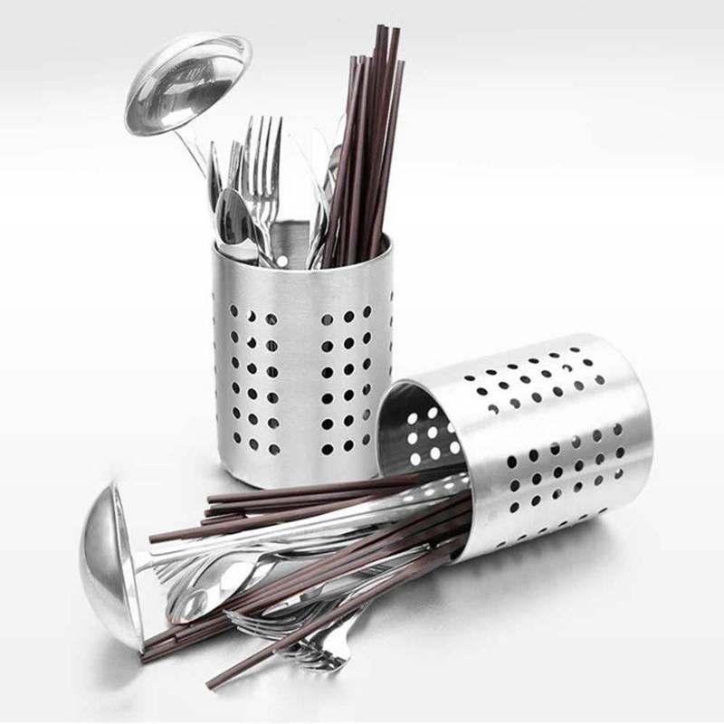 Abtropfständer Organizer Abtropfkorb für Besteck Küchenutensilien