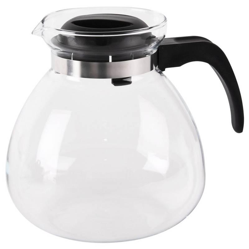 Kaffeekanne Glaskanne mit Deckel hitzebeständig 2,3l SIMAX