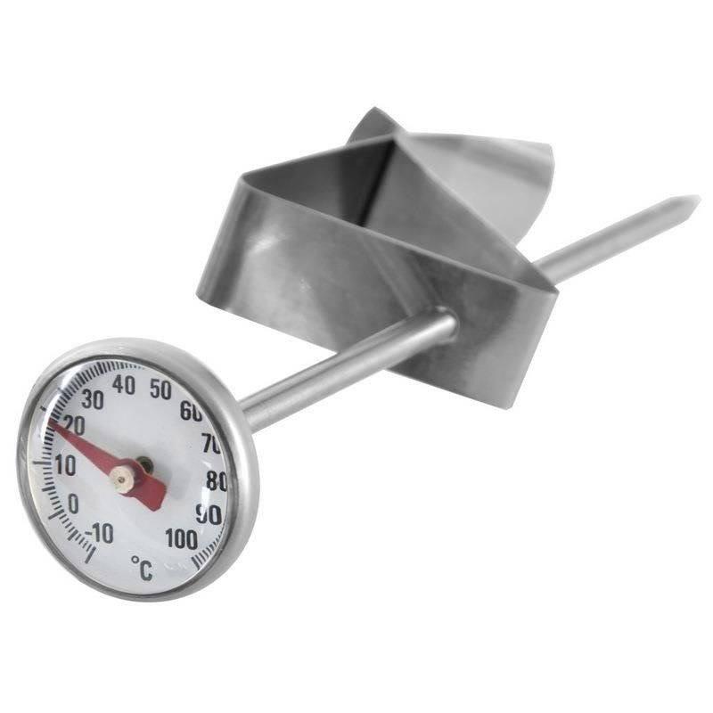 Küchenthermometer Fleischthermometer mit Clip zum Messer der Temperatur von Fleisch Suppen Milch