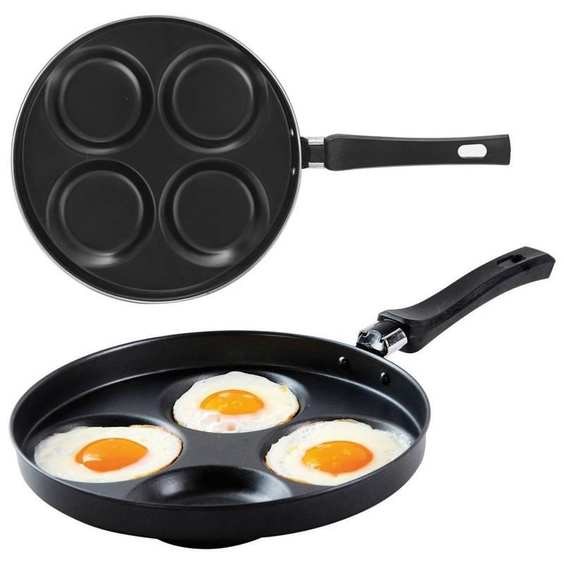 ORION Augenpfanne / Spiegeleipfanne / Pancakes-Pfanne 25 cm