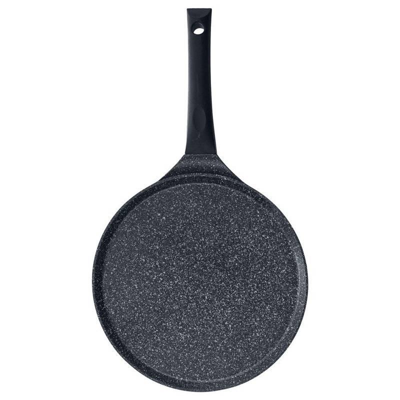 ORION Crepespfanne Pfannkuchenpfanne für Gas Induktion Ø 27 cm Antihaft GRANIT