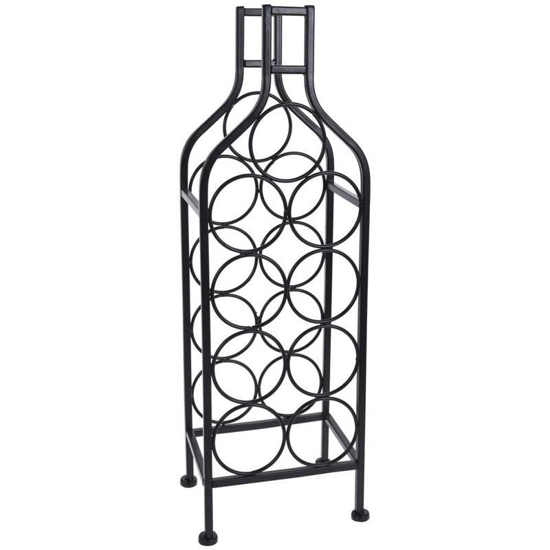ORION Flaschenständer WEINREGAL Weinflaschenhalter für 9 Flaschen