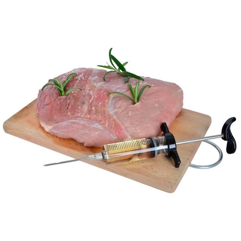 ORION Marinierspritze 30 ml Marinade Injektor Bratenspritze für Fleisch Spritze