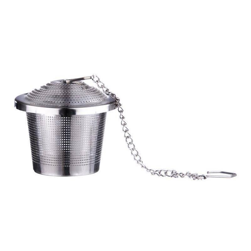 ORION Teeei / Teesieb Kräutersieb Teefilter mit Kette 4,5 cm