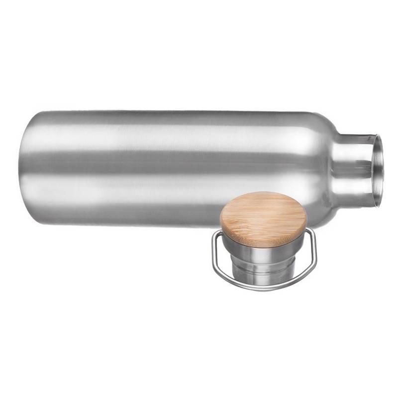 ORION Thermoskanne THERMOSFLASCHE aus Stahl für Getränke Tee Kaffee 0,55l