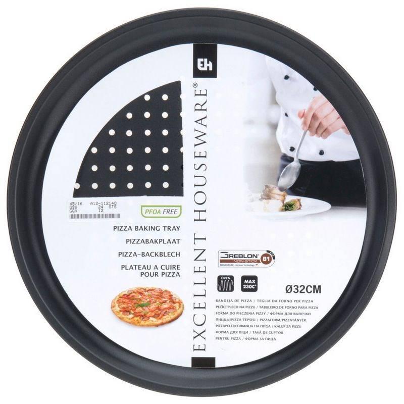 Blacha DO PIECZENIA PIZZY forma na pizzę perforowana 32 cm