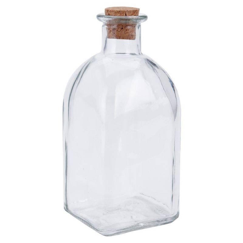 Butelka szklana z korkiem 280 ml RETRO