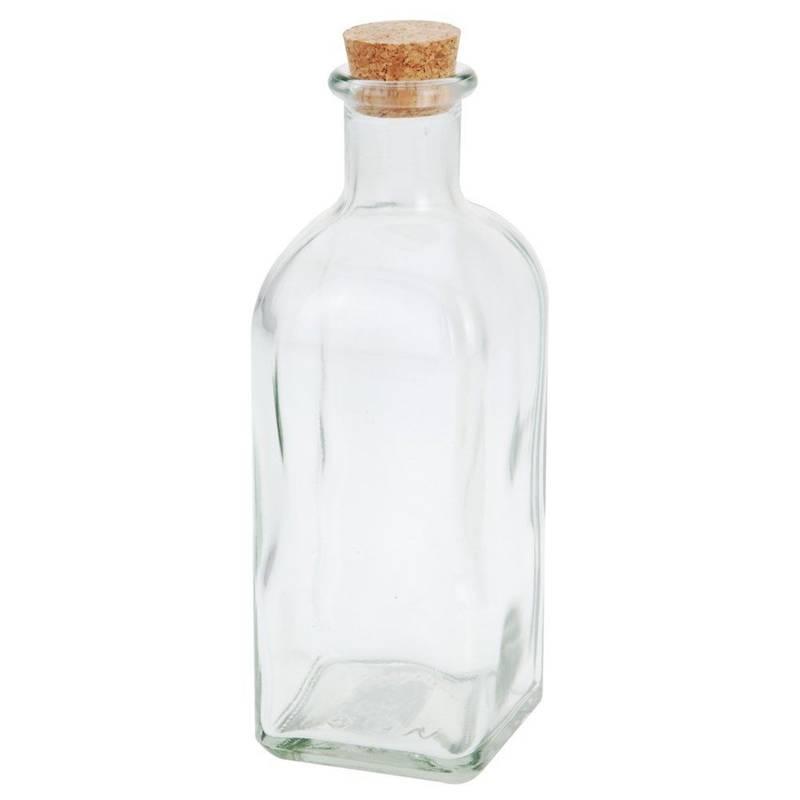 Butelka szklana z korkiem 500 ml RETRO