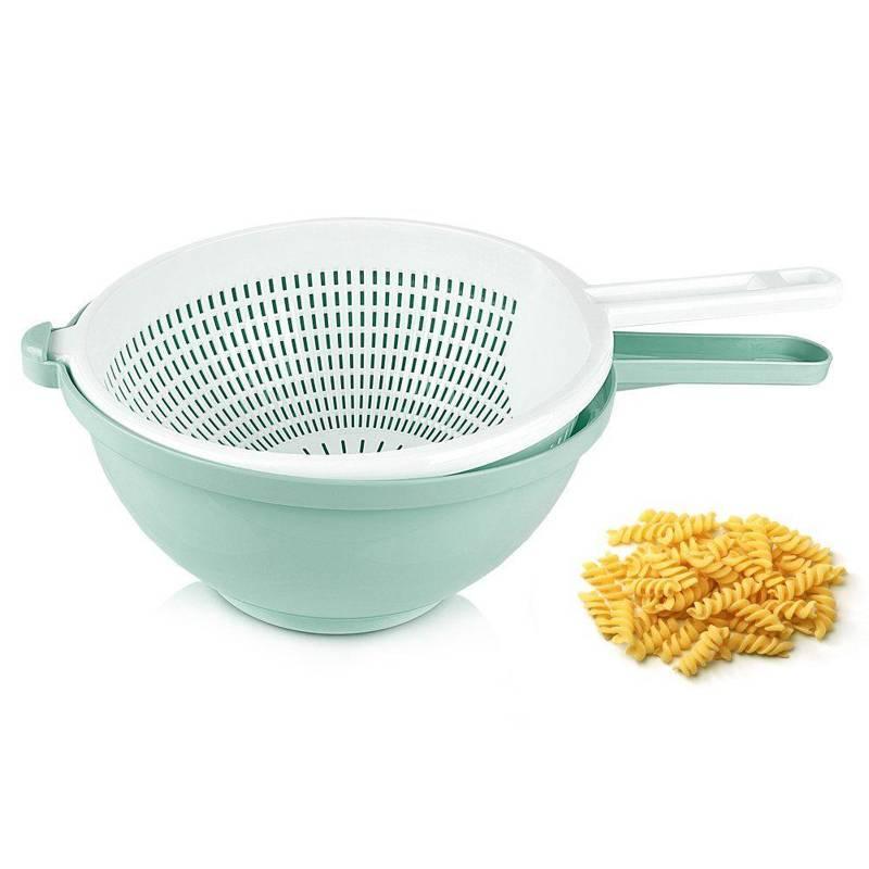 Cedzak + MISKA kuchenna z uchwytem 24cm sitko