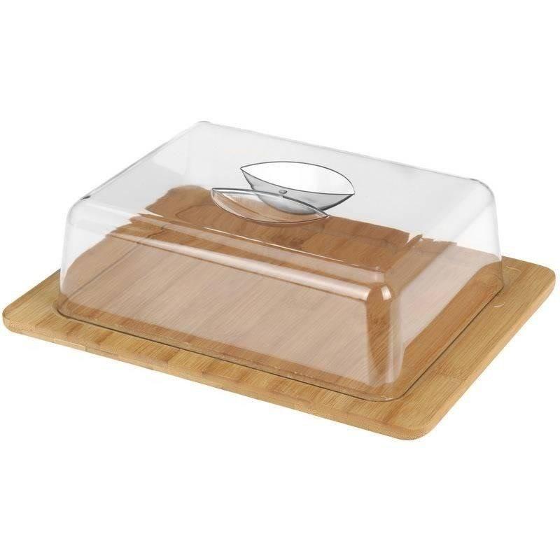Deska BAMBUSOWA do serów wędlin przekąsek przystawek z pokrywą