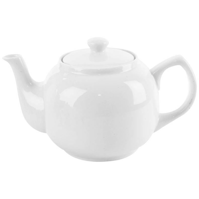 Dzbanek porcelanowy z uchwytem 1,7 do kawy herbaty