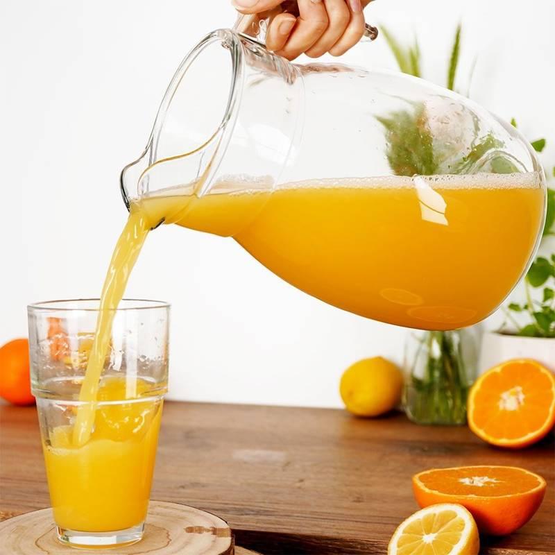 Dzbanek szklany do wody kompotu napojów lemoniady 2,5L