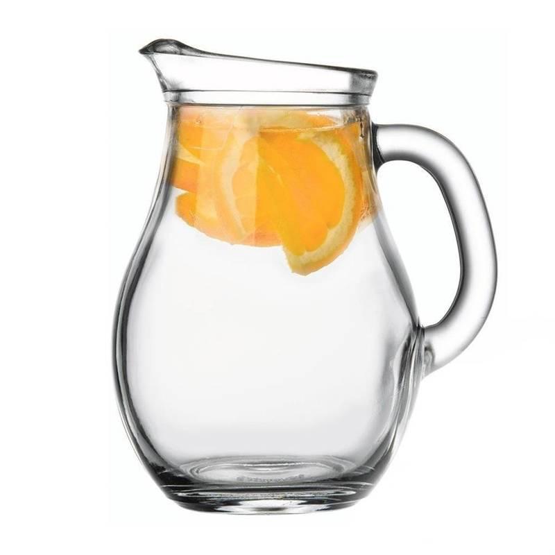 Dzbanek szklany do wody kompotu napojów lemoniady z uchwytem 0,25L