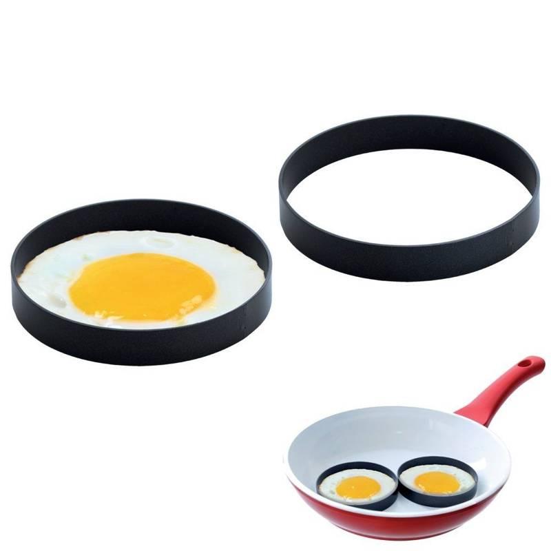 Forma obręcz do sadzonych jajek na jajko pancake 2 szt