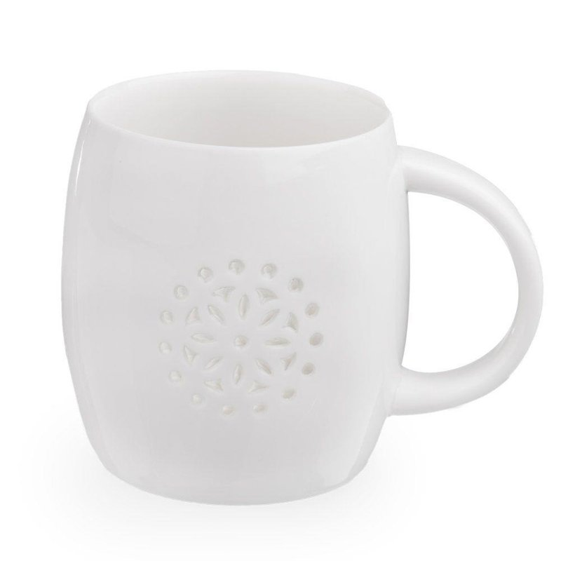 Kubek porcelanowy KWIAT LIGHT 0,5 l