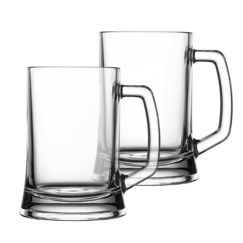 Kufel szklany / szklanka do PIWA 0,5L zestaw 2 szt