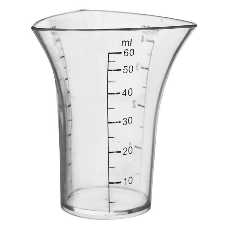 Miarka kuchenna / kieliszek barmański 60 ml ORION