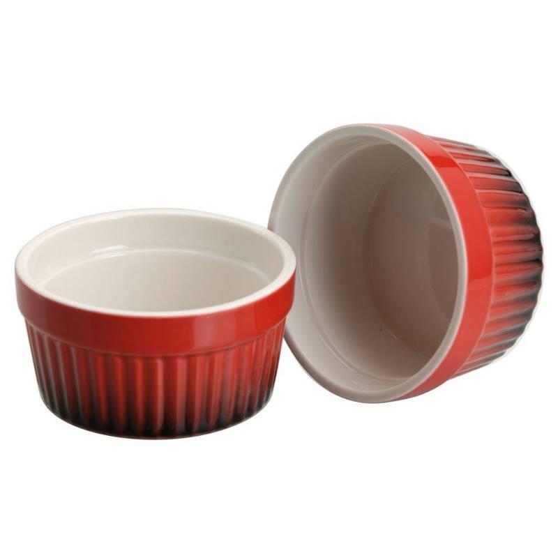 Miseczka kokilka do zapiekania żaroodporna ceramiczna 9 cm 2 sztuki