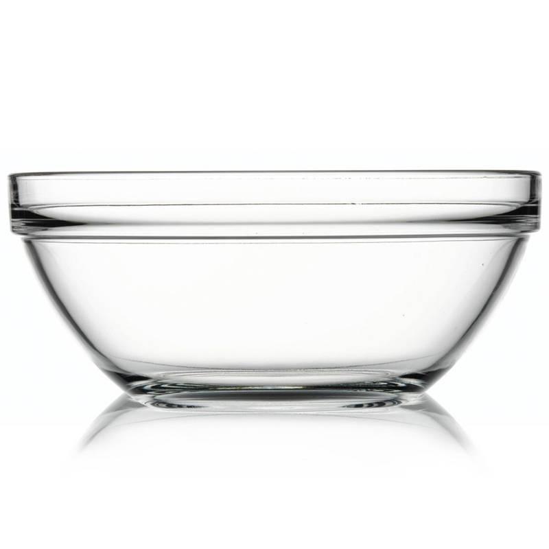 Miska misa do serwowania dań sałatek szklana 26 cm