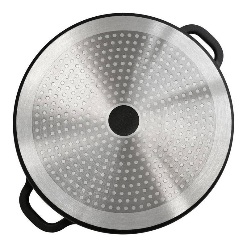 Patelnia GRANITOWA rondel 24cm GRANDE gaz indukcja
