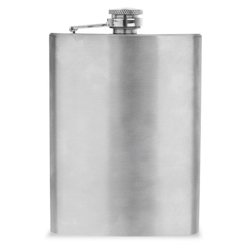 Piersiówka stalowa butelka do alkoholu 240 ml