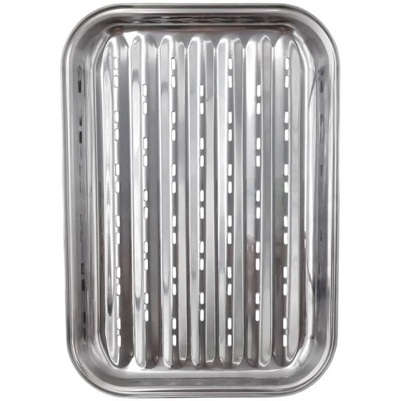 Płyta, blacha, ruszt, tacka na grilla, grillowa, perforowana, stalowa