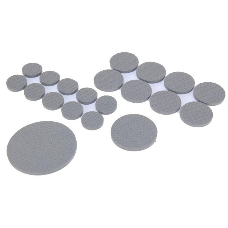 Podkładki stopki ANTYPOŚLIZGOWE gumowe zestaw 50 sztuk