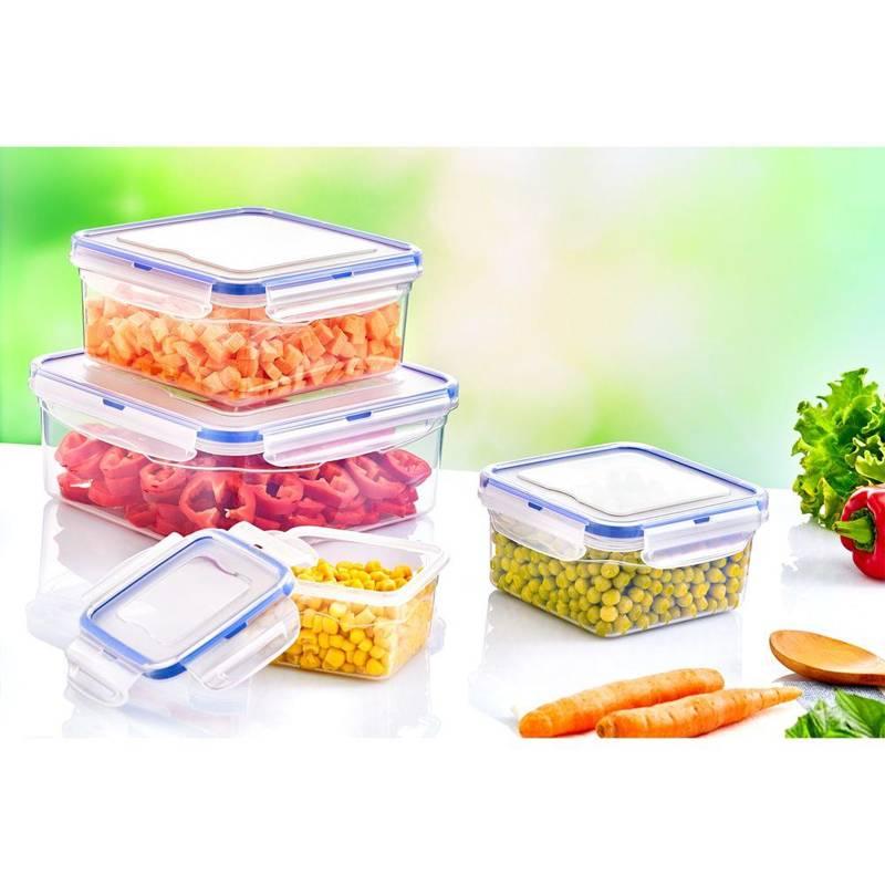 Pojemnik do żywności z uszczelką 1,3L prostokątny