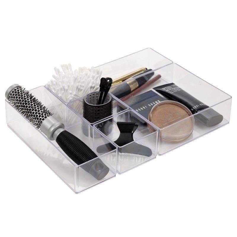 Pojemnik organizer akrylowy na kosmetyki biżuterie