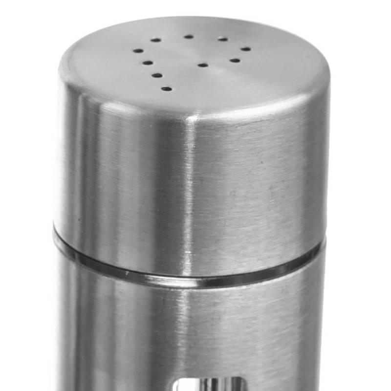 Przyprawnik w stojaku solniczka + pieprzniczka