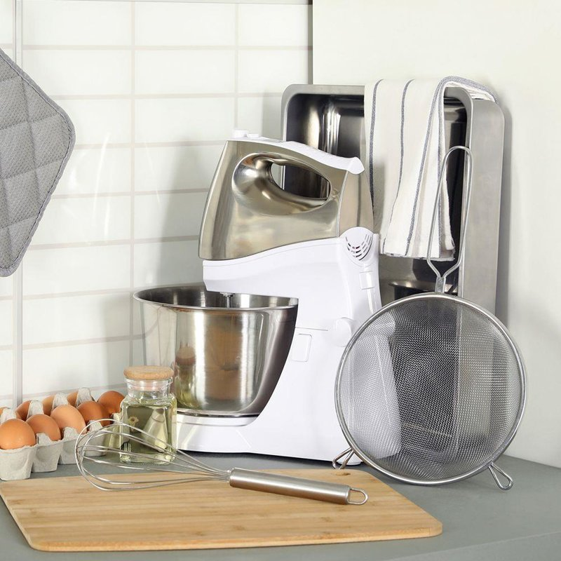 Sitko kuchenne stalowe cedzak durszlak 20 cm