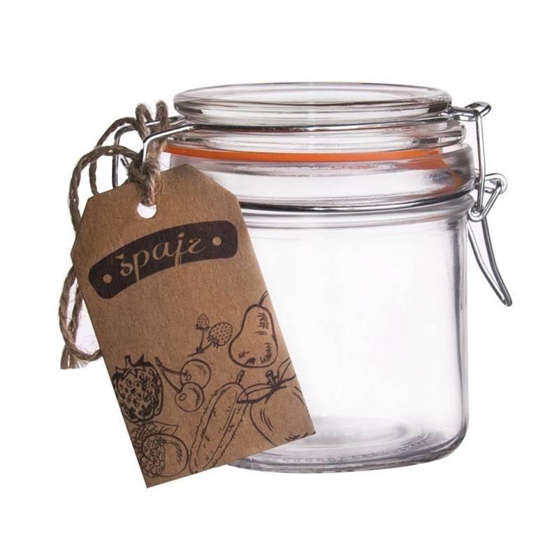 Słoik / pojemnik szklany patentowy BELA 0,1L